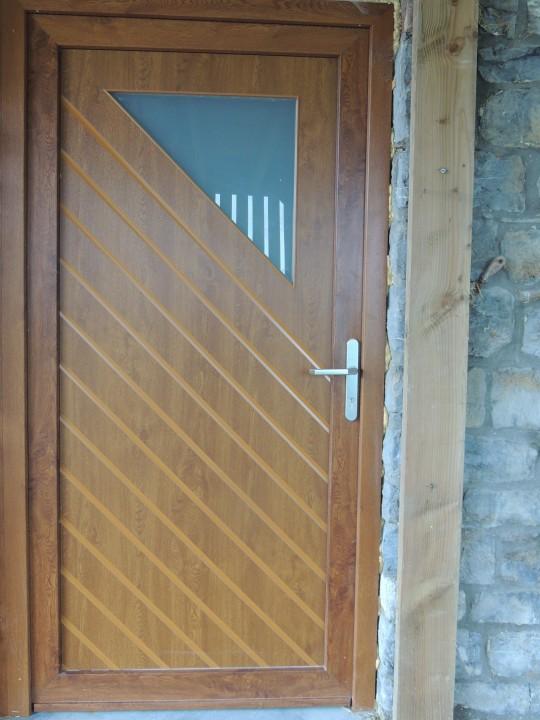 Portes décoratives effet bois