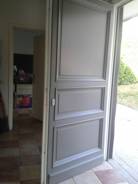 portes bois châssis pvc